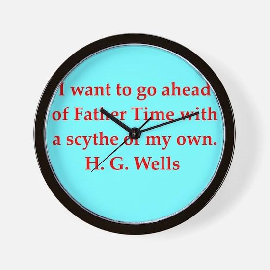 wells6.png Wall Clock