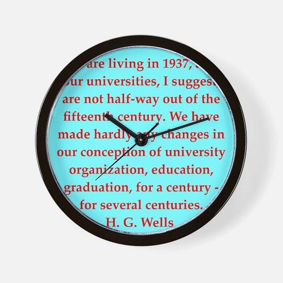 wells9.png Wall Clock