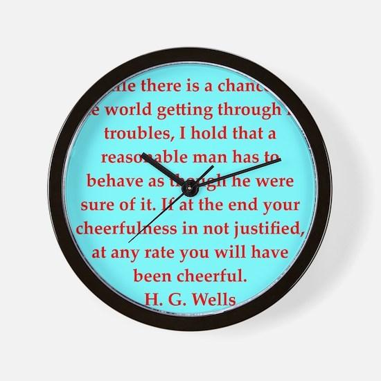 wells10.png Wall Clock
