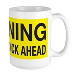 Warning Large Mug