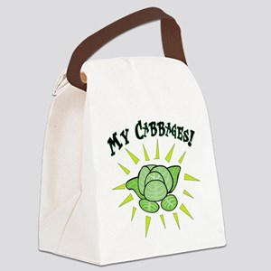 my+cabbages Canvas Lunch Bag