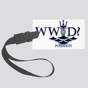 poseidonWWPD Large Luggage Tag