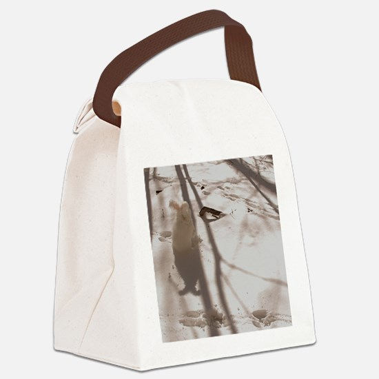 febnew Canvas Lunch Bag