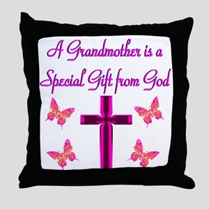 BLESSED GRANDMA Throw Pillow