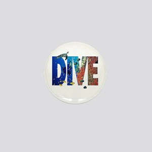 Scuba Dive! Mini Button