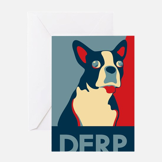 derp35x55bleed Greeting Card