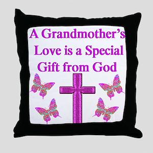 LOVING GRANDMA Throw Pillow