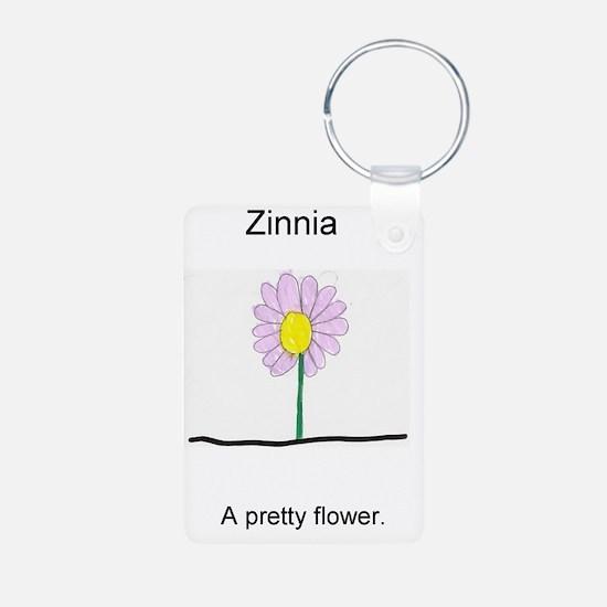 Zinnia Keychains