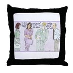 The Brown Nosers Throw Pillow