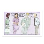 The Brown Nosers Postcards (Package of 8)