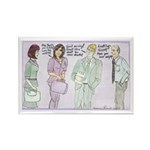 The Brown Nosers Rectangle Magnet (100 pack)