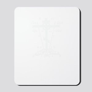 DTTWSHIRTwhite Mousepad