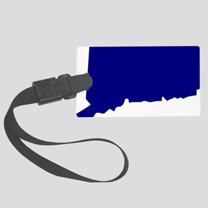 us_connecticut Large Luggage Tag