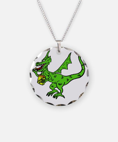 Cracker Dragon fin Necklace