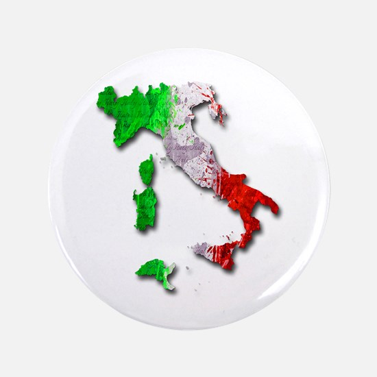 "Italy Map 3.5"" Button"