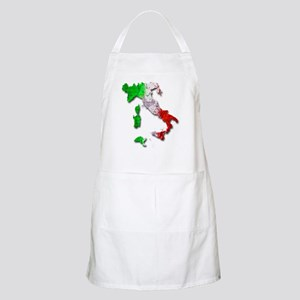 Italy Map Apron