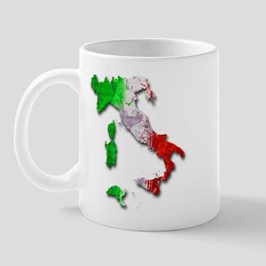 Italy Map Mugs