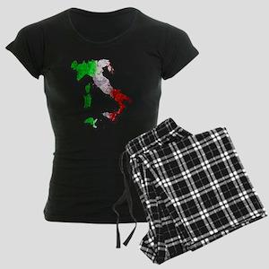 Italy Map Pajamas