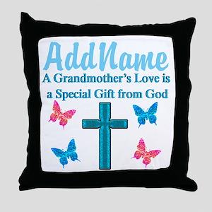 ADORING GRANDMA Throw Pillow