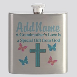 ADORING GRANDMA Flask