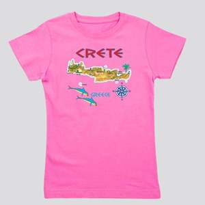 crete_t_Shirt_maP Girl's Tee
