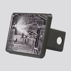 tesle Rectangular Hitch Cover