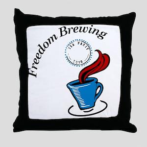 cp politics241 Throw Pillow