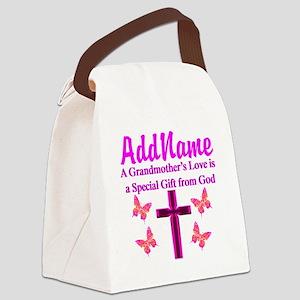 DIVINE GRANDMA Canvas Lunch Bag