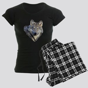 3-GRAY WOLF Women's Dark Pajamas
