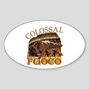 Colossal Fouco Oval Sticker