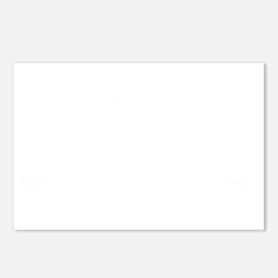 BronxBaseball27-WHITE Postcards (Package of 8)