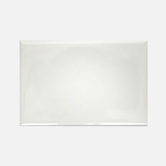 Manly-white Rectangle Magnet