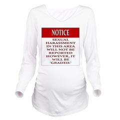 BDSM triskelion Long Sleeve Maternity T-Shirt