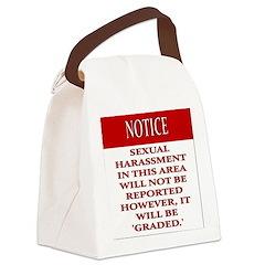 BDSM triskelion Canvas Lunch Bag
