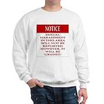 BDSM triskelion Sweatshirt