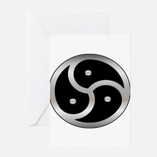 BDSM symbol Femdom Greeting Card