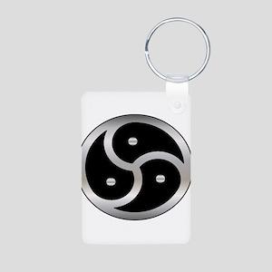 BDSM symbol Femdom Aluminum Photo Keychain
