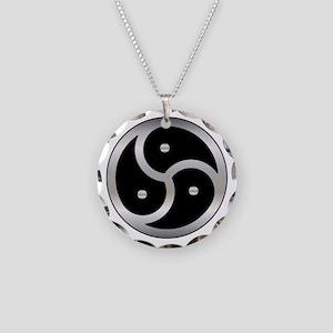 BDSM symbol Femdom Necklace Circle Charm