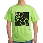Femdom BDSM Triskeli... Green T-Shirt