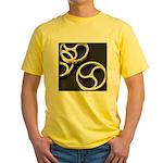Femdom BDSM Triskeli... Yellow T-Shirt