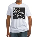Femdom BDSM Triskeli... Fitted T-Shirt