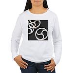 Femdom BDSM Triskeli... Women's Long Sleeve T-Shir