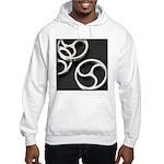 Femdom BDSM Triskeli... Hooded Sweatshirt