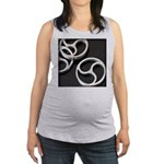 Femdom BDSM Triskeli... Maternity Tank Top