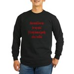Femdom fetish Long Sleeve Dark T-Shirt