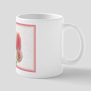 Pale Pink Tulips Mug