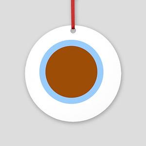 Libra Capricorn Capricorn Round Ornament