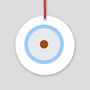 Libra Cancer Capricorn Round Ornament
