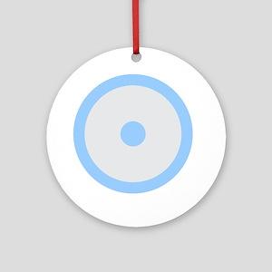 Libra Cancer Libra Round Ornament