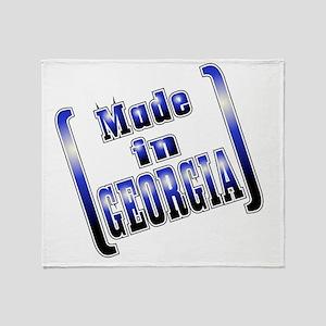 made_GEORGIA_T Throw Blanket